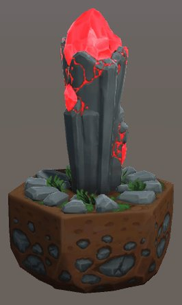 Our last piece of 3D terrain has been created, the Summoner's Tower. This is the tile that you'll always be able to summon units from and is essentially your home base.  #progressivegamejam #pgj5 #evocus #gamedev #indiegame #indiedev #indiegamedev #madewithunity #unity3d