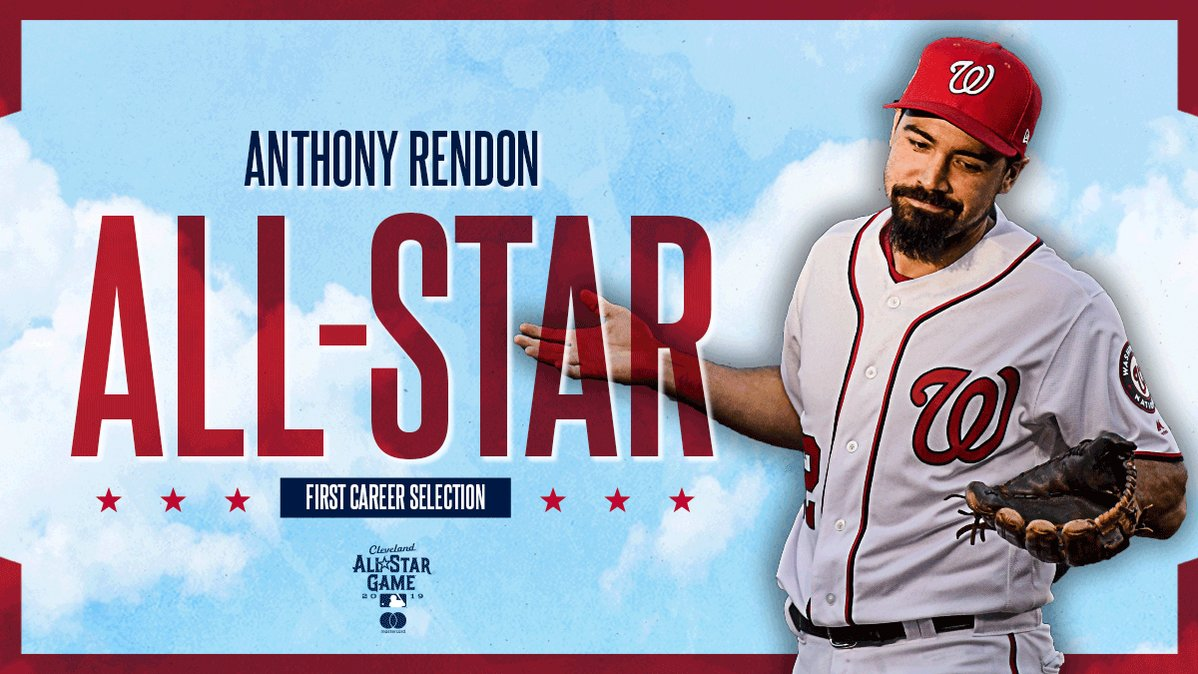 RT <a target='_blank' href='http://twitter.com/Nationals'>@Nationals</a>: Anthony Rendon leads all NL INF in fWAR since 2017.  He's F I N A L L Y an All-Star. <a target='_blank' href='https://t.co/GNMLoz6JCJ'>https://t.co/GNMLoz6JCJ</a>