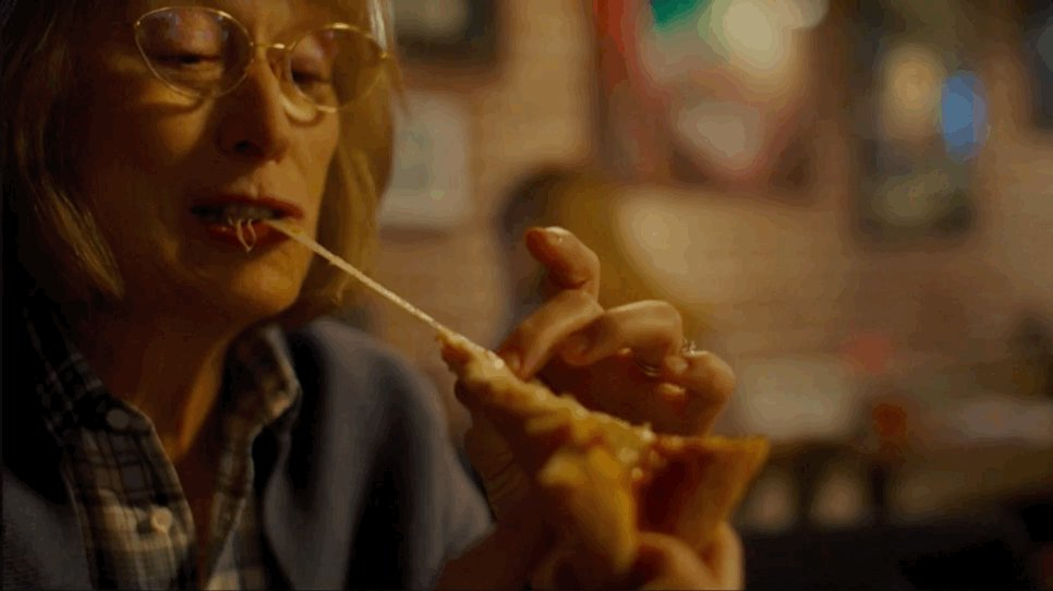 Meryl Streep is literally chewing the scenery in #BigLittleLies.