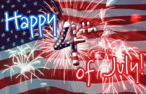 Image for the Tweet beginning: Happy 4th of July!