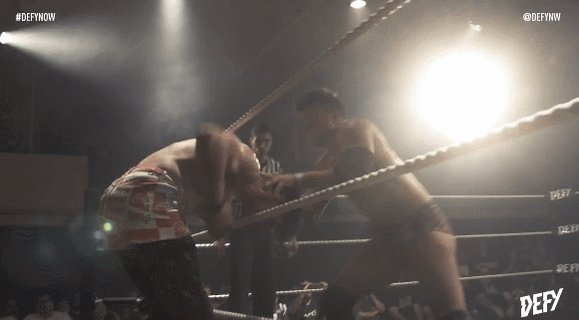 .@The_MJF With the Heatseeker!  #DEFYNow @defyNW   http://defyondemand.com  http://highspotswrestlingnetwork.com  http://Powerslam.tv