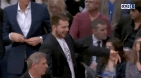 Luka Doncic loved the Salah Mejri three pointer