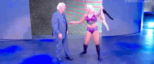Happy birthday to the nature boy, Ric Flair He s got to be so proud of his daughter