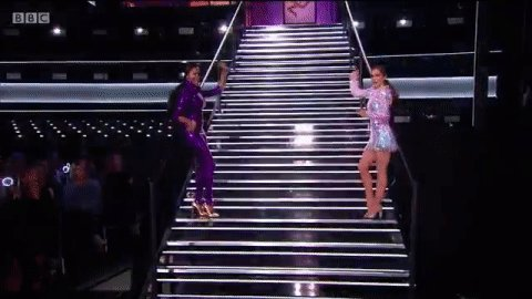 me and my work pal slinking back into the office after a two hour lunch break #GreatestDancer