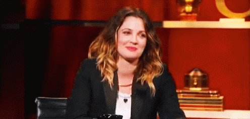 She is happy now on her birthday. Happy birthday,Drew Barrymore