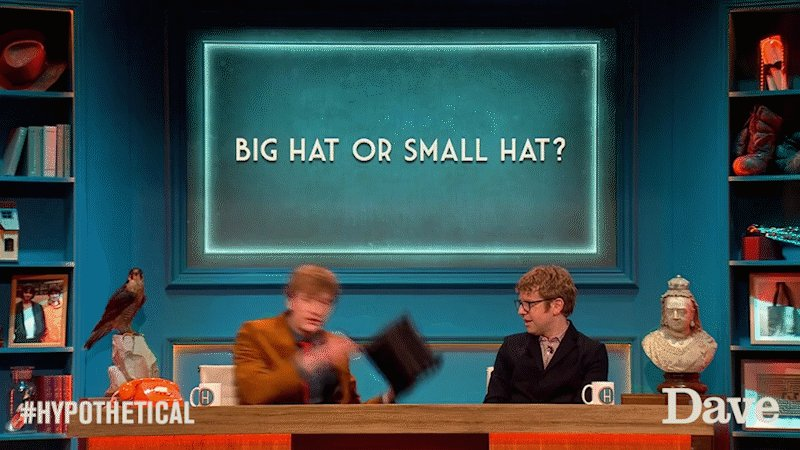 Getting ready for work on a Monday: #Hypothetical style. #MondayMotivation @joshwiddicombe @JamesAcaster