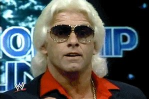 Happy Birthday to the Legend, Now give me 2 claps and a Ric Flair.    WOOOOO!