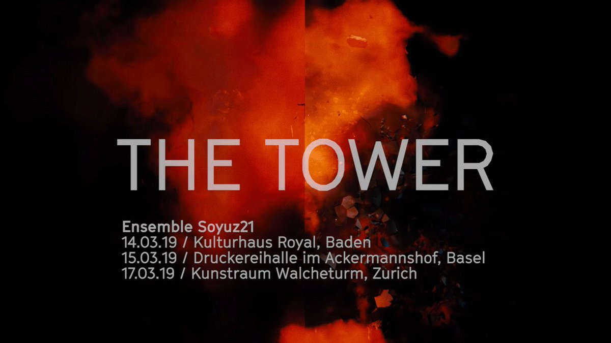 Image for the Tweet beginning: The Tower, commissioned by Soyuz21,