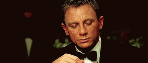 Happy Birthday to Daniel Craig !! My favourite James Bond ever in time.