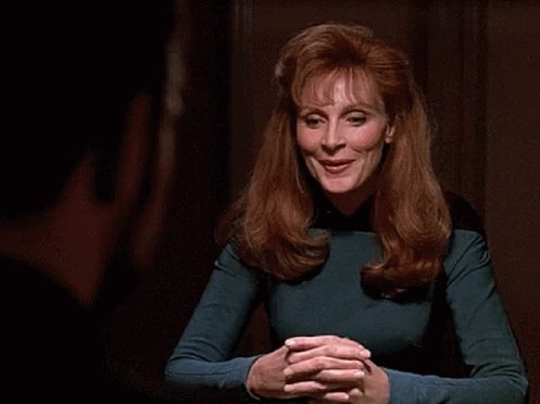 A very happy birthday to the eternal Dr. Beverly Crusher, the awesome