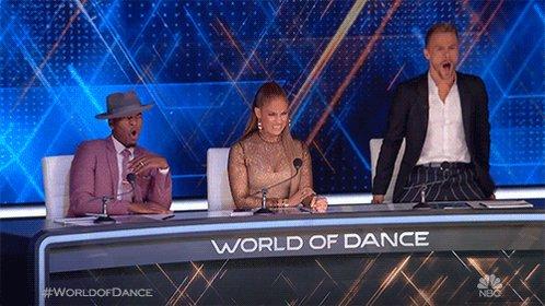 Tonight's talent had us like... See y'all next Sunday! #worldofdance