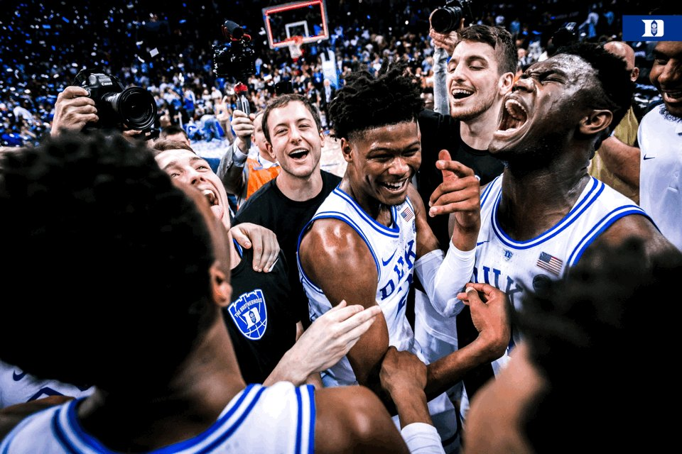 📸 Moments you come to Duke for ☂️✂️🏆🔵😈