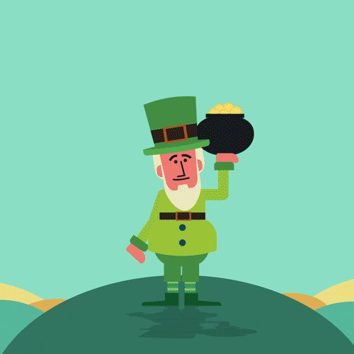 Image for the Tweet beginning: Happy St. Patrick's Day 🍀