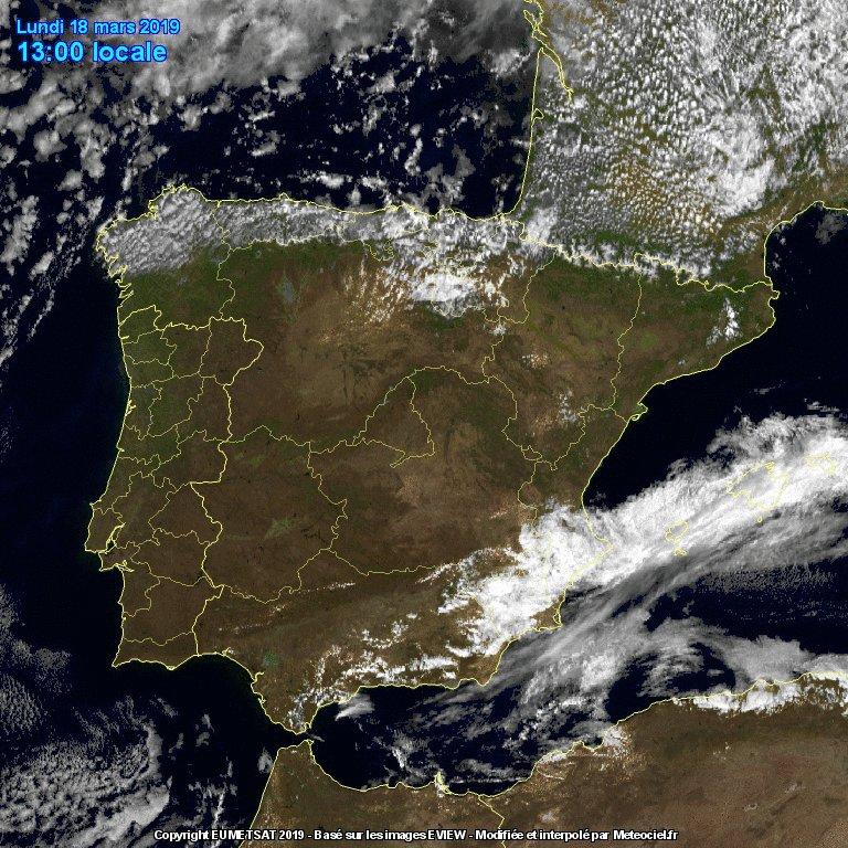 Image for the Tweet beginning: Temperatura mínima hoy en #Móstoles