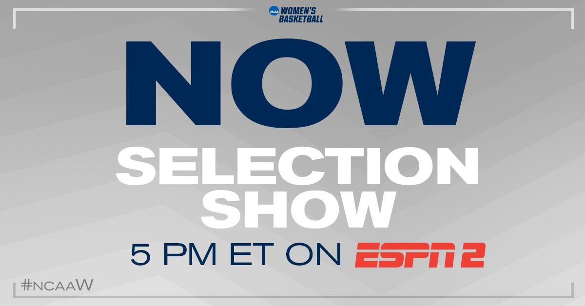 TUNE-IN. ESPN2.  #ncaaW