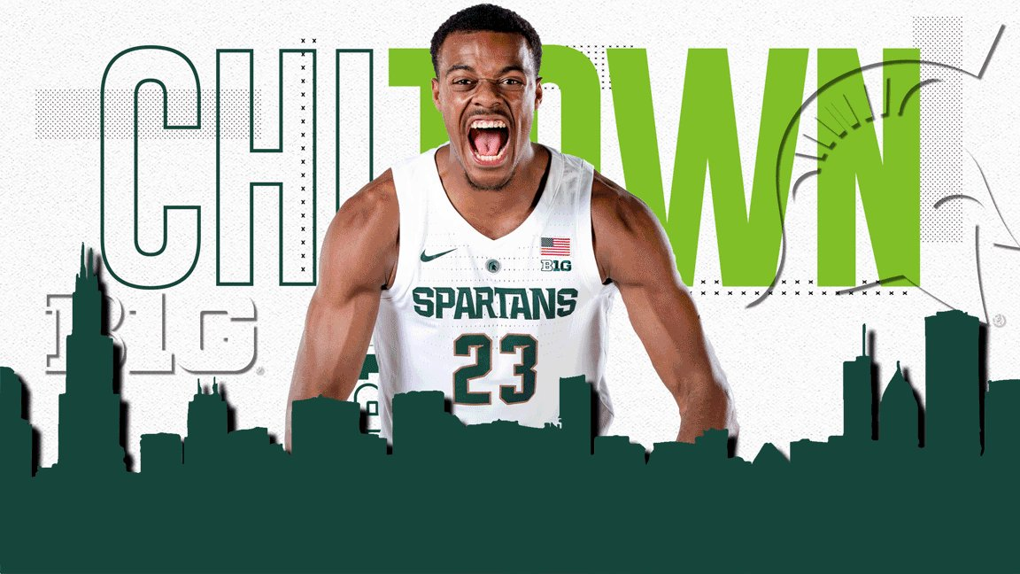 Spartans take on the city this weekend for the #B1GTourney #SpartanDawgs