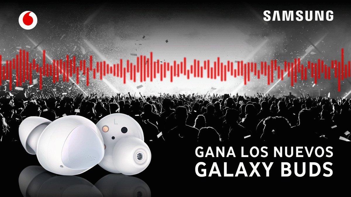 Vodafone España's photo on #GalaxyBudsEnVodafone