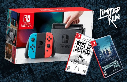 Want to win a Nintendo Switch, Thimbleweed Park, and West of Loathing? Follow @LimitedRunGames and like & retweet this to be entered! We'll pick a winner on Thursday, March 28. GLHF!