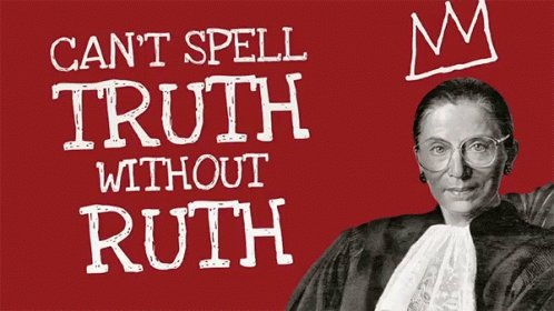 Happy Birthday to the Notorious Ruth Bader Ginsburg
