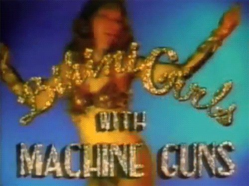 Bikini Girls with Machine Guns!  What an excellent choice from the Soul Movers. #watchingrage https://t.co/aUoma1ReYt