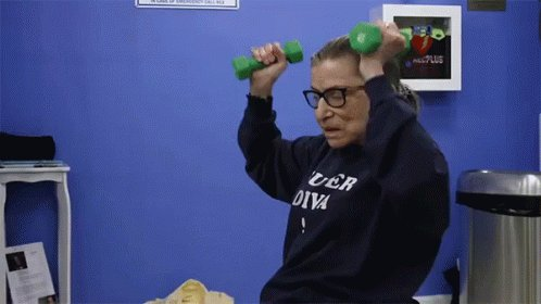 TODAY IS RUTH BADER GINSBURG S BIRTHDAY!!! Happy birthday to my number 1 shero!!!!