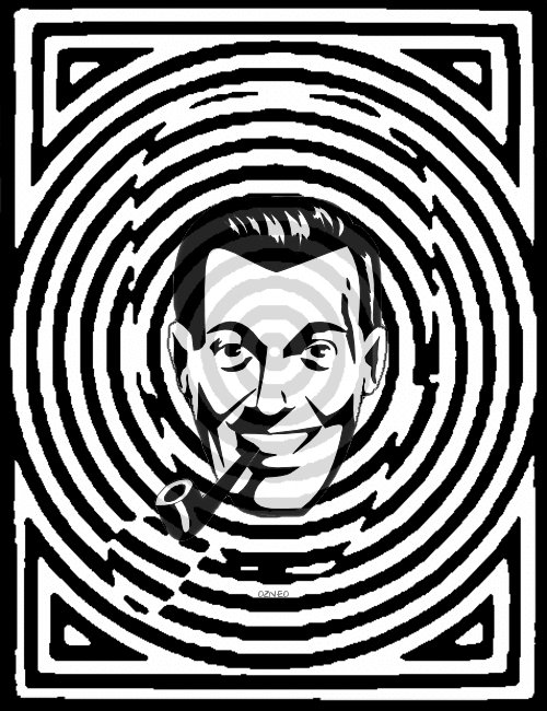 Beto is one pipe away from being unmasked as Bob Dobbs and no one is talking about it