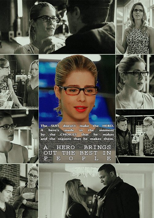 So sad & crying. Felicity Smoak is so important to us & #Arrow. Thank you @EmilyBett for bringing her to life flawlessly & all the good memories, wishing you the best. Hope Felicity gets the send off she deserves & maybe pops up on S8 for a happy #Olicity ending💘 Gif: @mika20211