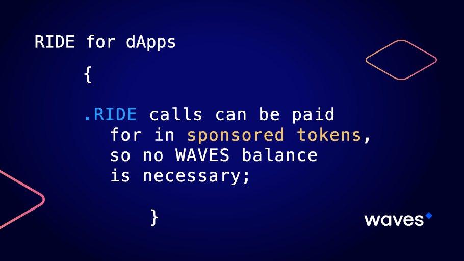 #Ride4dApps #RideOnWaves $WAVES