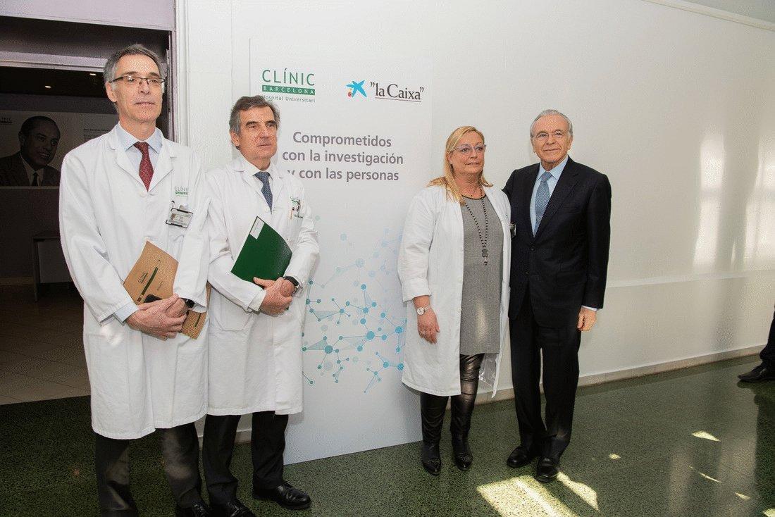 La @FundlaCaixa aporta cerca de 6M euros al #CLÍNIC para impulsar la investigación en inmunoterapia celular del cáncer, ofrecer una atención integral a personas con enfermedades avanzadas e impulsar la formación de médicos http://bit.ly/2TPmk4h #ComprometidosConLaInvestigación