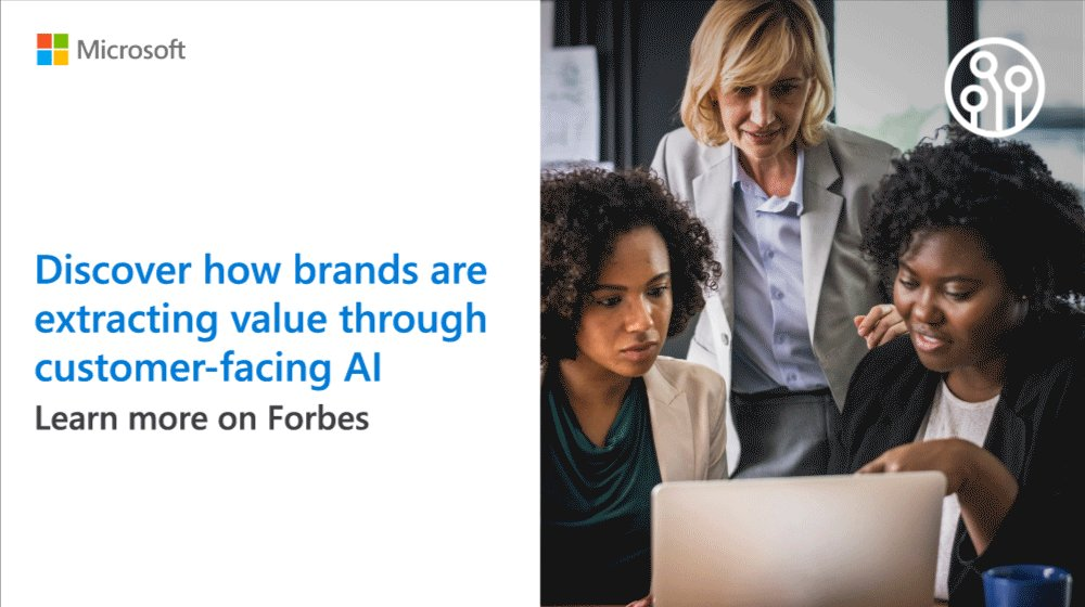 Forbes shares how these three companies adopted customer-facing #AI to enhance customer service. Read more: http://msft.social/qZ0x9J