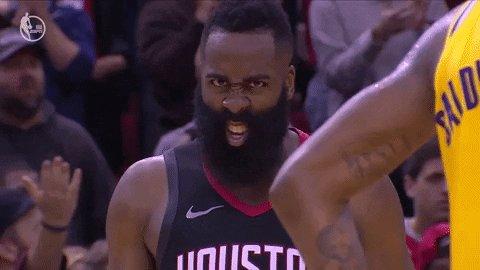 James #Harden... pero qué locura es esta #MVP #Rockets   61 pts... vs Spurs