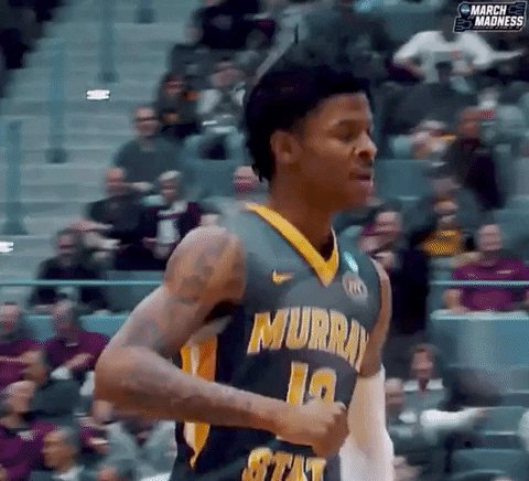13 points, 4-for-4 from 3-point range in the first 10 minutes.  Ja Morant makes it look easy.