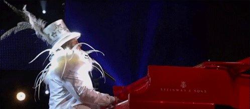 Elton John Three Piece Suite  ?!   Happy Birthday, Sir Elton John