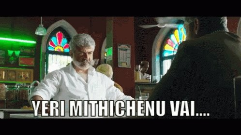 Rip previous day 1 festival release collection records 😂   He is coming - This August 10 2019   #NerkondapaarvaifromAug10