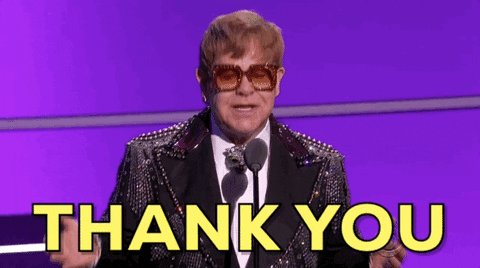 Happy birthday to !  Thank you for all the great music!  What is your favorite Elton John song?