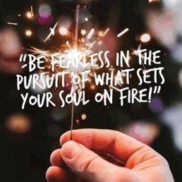 Be fearless in the pursuit of what sets your soul on fire.   #JoyTrain #SuccessTRAIN #Joy #Success #MentalHealth #Mindfulness #GoldenHearts #IAM #kjoys1 #Quote #MondayMorning #MondayThoughts #MondayMotivation #MondayMood #makeyourownlane #spdc RT@1228erin