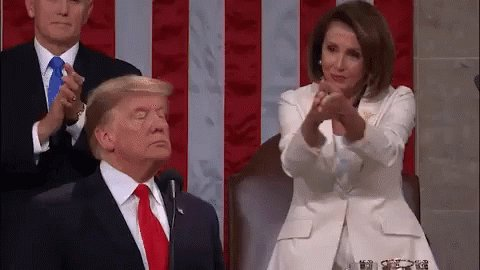 Happy Birthday to Nancy Pelosi! and her clap heard around the world!