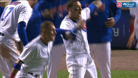 @ChicagoBears @Cubs @whitesox When @ZMiller86 did take me out to the ball game. Led to the J-Hey slam.