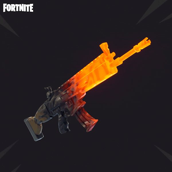 fortnite on twitter too hot to handle grab the new magma wrap available in the item shop along with the three strikes set - best gun wraps fortnite