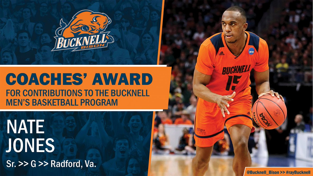 Earlier today at our annual Backcourt Club Banquet we announced our 2018-19 award winners. Congrats to these deserving recipients! #rayBucknell #TheBisonWay