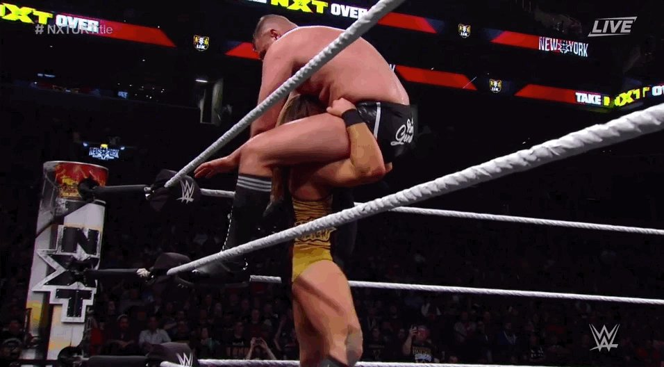 The @WWEUK Championship battle between @PeteDunneYxB and @WalterAUT is streaming NOW as #NXTTakeOver: New York continues on @WWENetwork! http://wwe.me/57D0E7