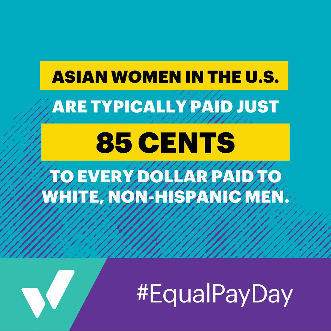 Image for the Tweet beginning: Today is #EqualPayDay – the