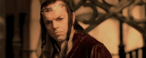 Happy birthday Hugo Weaving, a majestic presencie in the Lord of the rings saga.