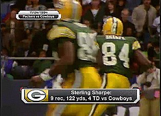 Happy Birthday to one of the most under appreciated WR in the NFL  Sterling Sharpe