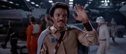 Want to wish Billy Dee Williams a very happy Birthday today! May the Force be with you!!