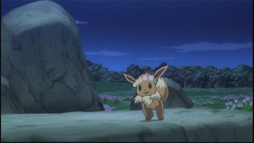 Live every day like an Eevee dancing in a field of flowers 🌸
