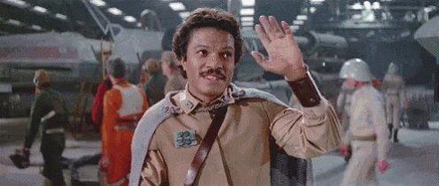 Happy birthday Billy Dee Williams, the great Lando Calrissian