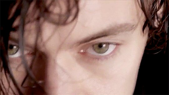 in the dead of night your eyes so green