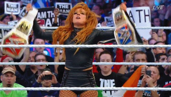 That WWE Guy's photo on Becky Lynch