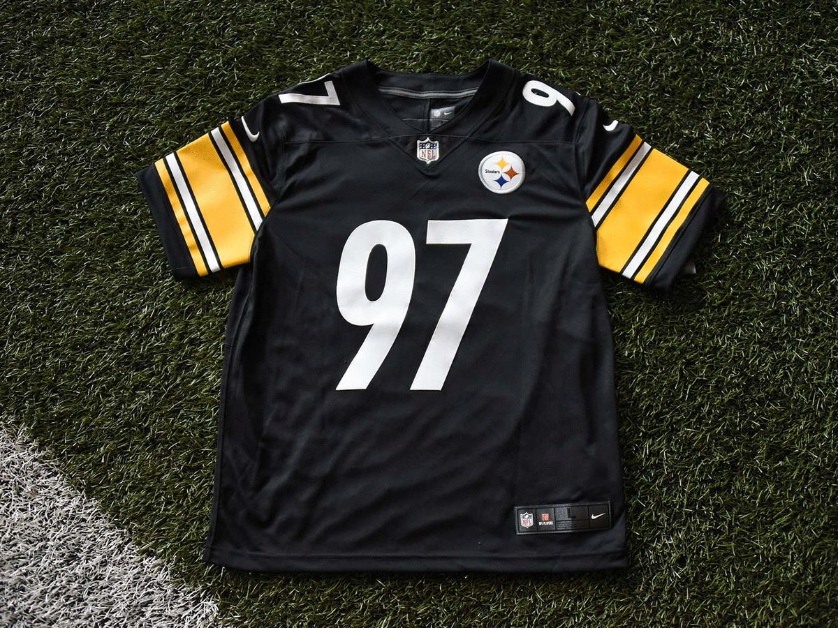 Rep your Black & Gold on #412day.  Retweet for your chance to win this @CamHeyward jersey.